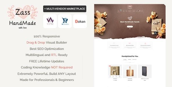 Zass v3.9.0 – WooCommerce Theme for Handmade Artists and Artisans