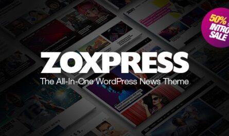 ZoxPress v2.03.0 – All-In-One WordPress News Theme