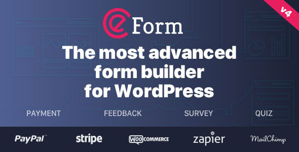 eForm 4.15.1 Nulled – WordPress Form Builder - WordPress Theme,
