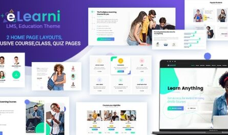 eLearni v2.1 – Online Learning & Education LMS