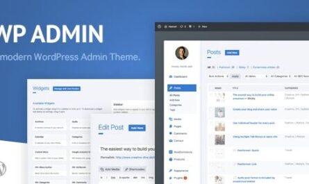 wphave Admin - A clean and modern WordPress Admin Theme