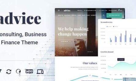 Advice v4.5.4 – Business Consulting WordPress Theme