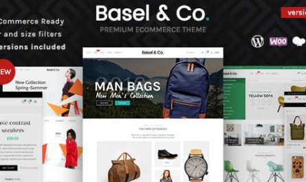 Basel v5.4.2 – Responsive eCommerce Theme