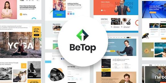 BeTop v1.0.8 – Coaching & Speaker WordPress Theme