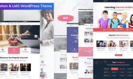 Bookflare v1.0.1 – A Modern Education & LMS WordPress Theme