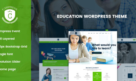 Campress v1.8 – Responsive Education, Courses and Events