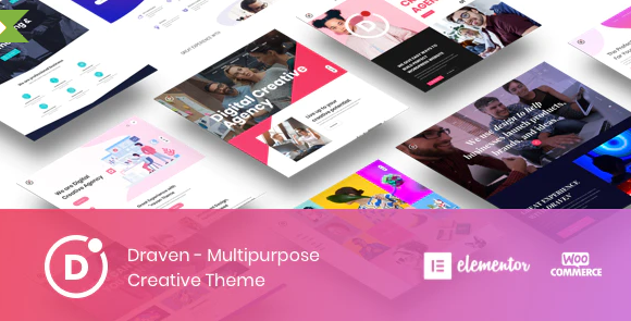 Draven v1.2.1 – Multipurpose Creative Theme