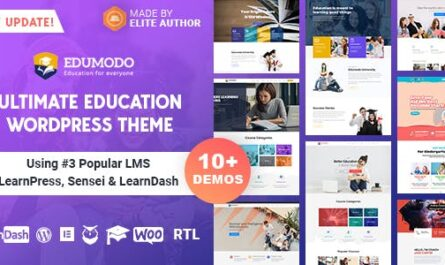 Edumodo v2.6.4 – Education WordPress Theme
