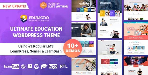 Edumodo v3.1.0 – Education WordPress Theme