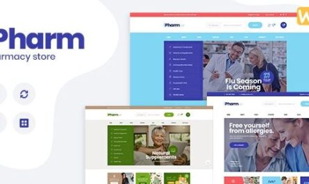 IPharm v1.0.1 – Online Pharmacy & Medical WordPress Theme