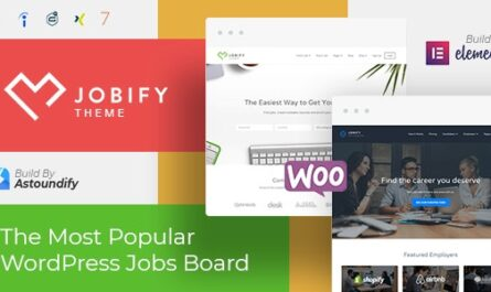 Jobify v3.19.0 – WordPress Job Board Theme