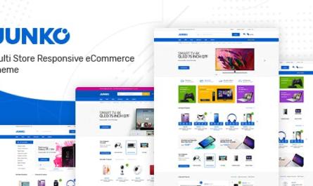 Junko v1.0.9 – Technology Theme for WooCommerce WordPress