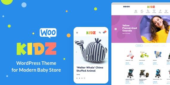 KIDZ v3.1 – Baby Shop & Kids Store WordPress WooCommerce Theme
