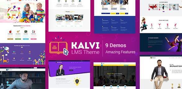 Kalvi v2.4 – LMS Education WordPress Theme