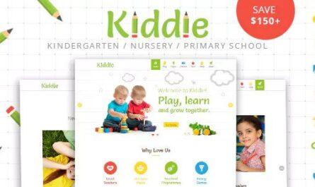Kiddie v4.1.4 – Kindergarten and Preschool WordPress Theme