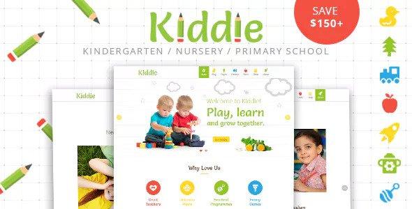 Kiddie v4.1.7 – Kindergarten and Preschool WordPress Theme