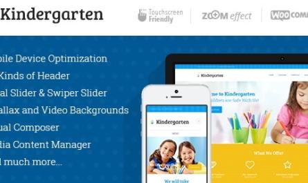 Kindergarten v3.8 | Day Care & Children School Education WordPress Theme