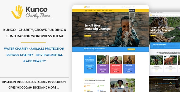 Kunco v1.1.0 – Charity & Fundraising WordPress Theme