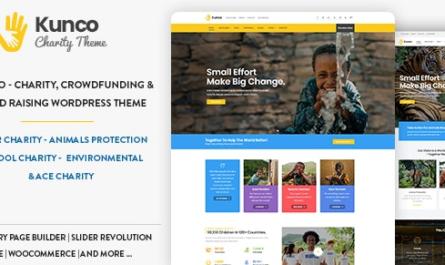 Kunco v1.1.1 – Charity & Fundraising WordPress Theme