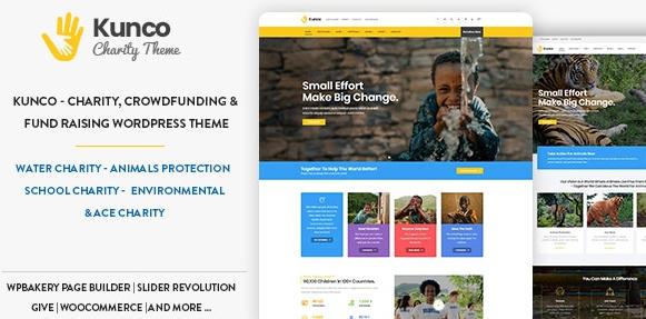 Kunco v1.2 – Charity & Fundraising WordPress Theme
