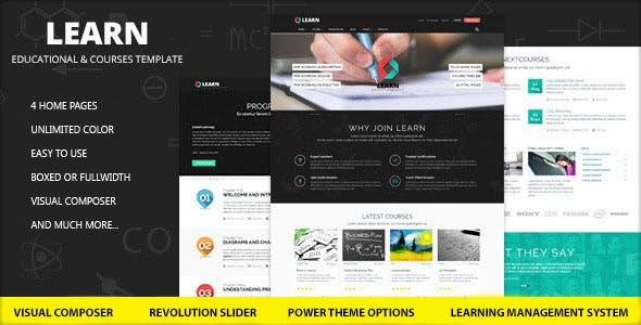Learn v1.0.9.2 – Education, eLearning WordPress Theme