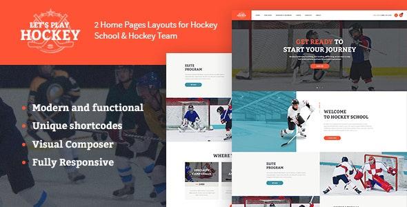 Let's Play v1.1.4 | Hockey School & Winter Sports WordPress Theme