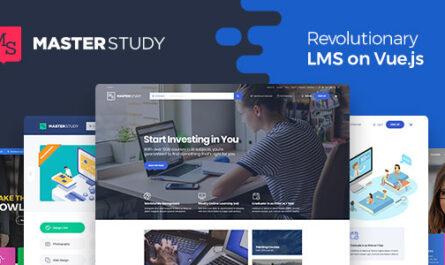 Masterstudy v2.9.3 – Education Center WordPress Theme