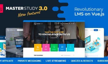Masterstudy v3.0.8 – Education Center WordPress Theme