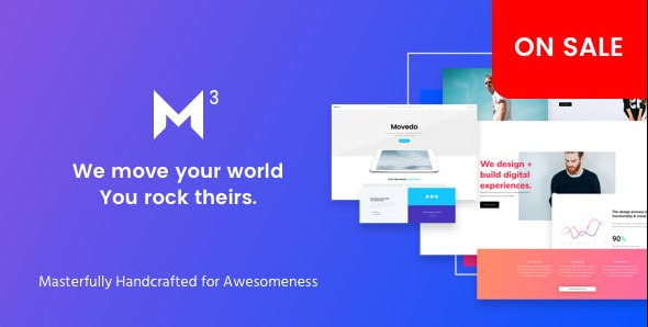 Movedo v3.3.8 – Responsive Multi-Purpose WordPress Theme