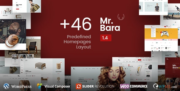 Mr.Bara v1.8.3 – Responsive Multi-Purpose eCommerce WordPress Theme