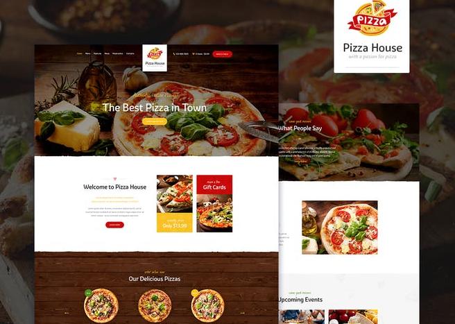 Pizza House v1.2 – Restaurant / Cafe / Bistro WordPress Theme