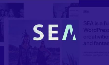 Portfolio SEA v1.7.1 – WordPress Theme 1.7.1
