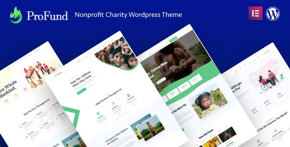 ProFund v3.0.0 – Nonprofit Charity WordPress Theme