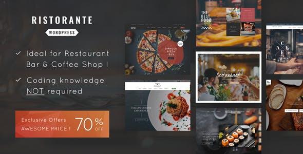 Ristorante v1.6 – Restaurant WordPress Theme