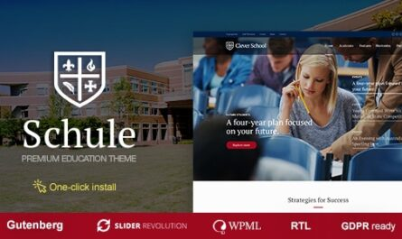 Schule – School & Education Theme v1.0.9