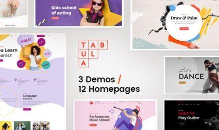 Tabula v1.0.1 – Art, Music & Language School