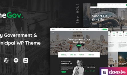 TheGov v1.1.3 – Municipal and Government WordPress Theme Nulled