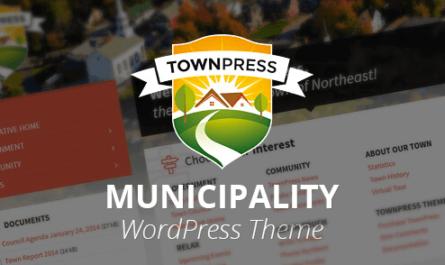 TownPress v3.6.1 – Municipality WordPress Theme