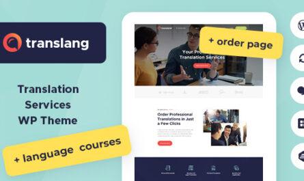 Translang v1.1.3 – Translation Services & Language Courses
