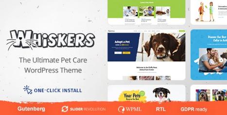 Whiskers v1.0.6 – Pets Store | Vet Clinic | Animal Adoption