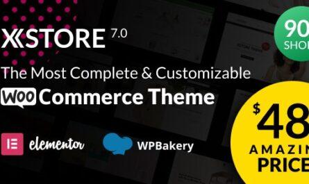 XStore v7.2.7 – Responsive Multi-Purpose WooCommerce WordPress Theme