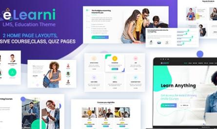 eLearni v1.4 – Online Learning & Education LMS