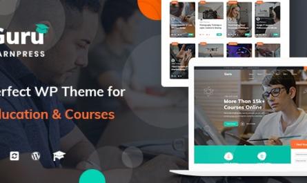 iGuru v1.1.5 – Education & Courses WordPress Theme