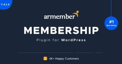 ARMember 4.1.4 Nulled + Addons – WordPress Membership Plugin