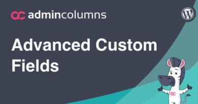 Admin Columns Addon – Advanced Custom Field (ACF) 2.6.4