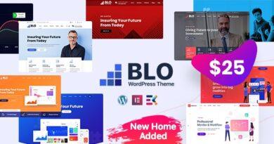 BLO 2.9 – Corporate Business WordPress Theme