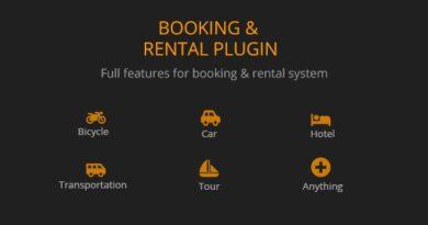BRW 1.1.9 – Booking Rental Plugin WooCommerce
