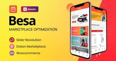 Besa 1.2.10 – Elementor Marketplace WooCommerce Theme