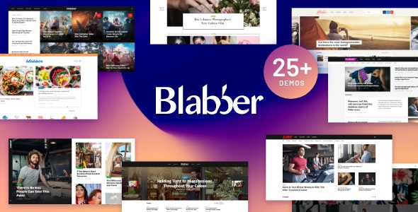 Blabber 1.7.0 – Blog & News Magazine WordPress Theme