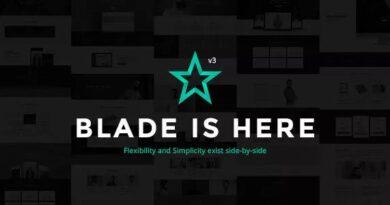 Blade 3.3.2 – Responsive Multi-Functional WordPress Theme